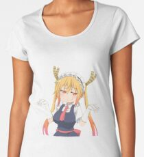 Smug Tohru Women's Premium T-Shirt