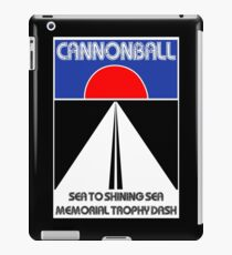 Cannonball Run iPad Case/Skin