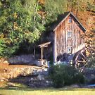 Old Mill Canton Georgia by Noble Upchurch