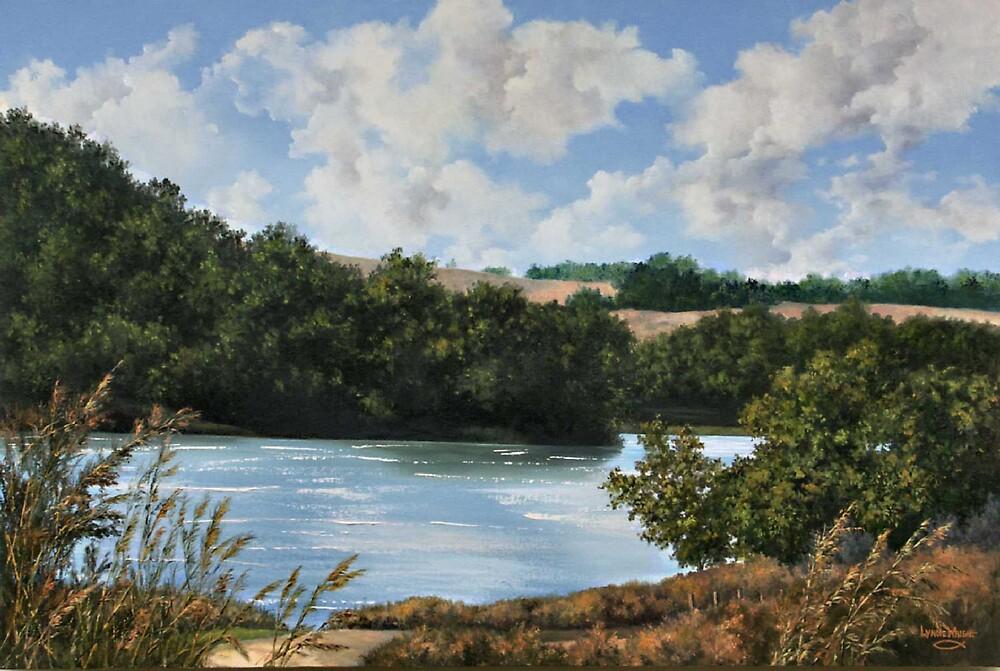Late Summer at Sedan by Lynne Wright