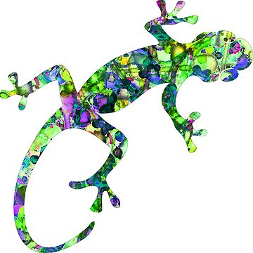 Tie-Dye Gecko by mrthink