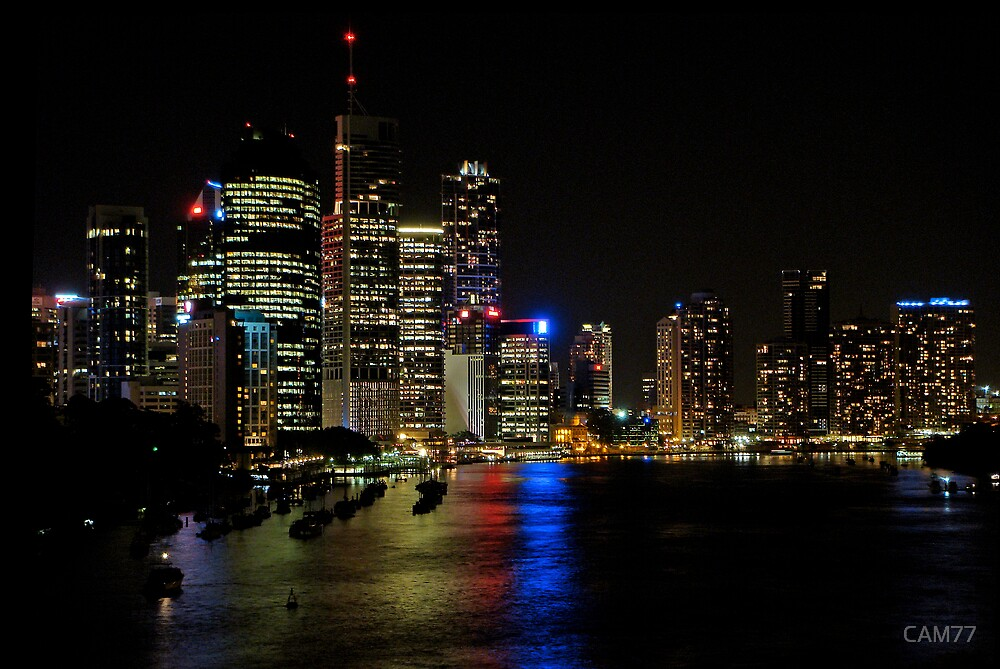 Brisbane City by CAM77