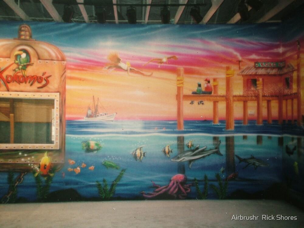 Kokomos Saginaw by Airbrushr  Rick Shores