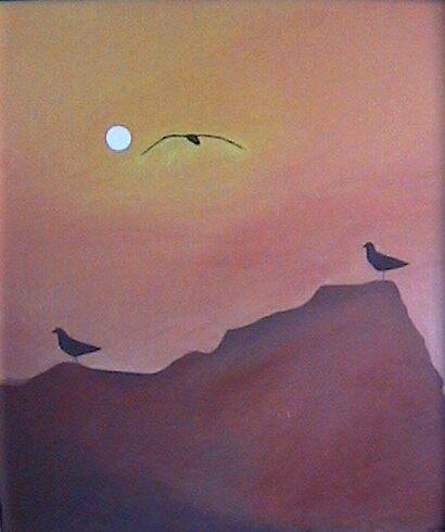Sea Gulls by Eddy1948