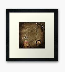 Indian Equipment Framed Print