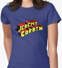Super Corbyn Womens Fitted T-Shirt
