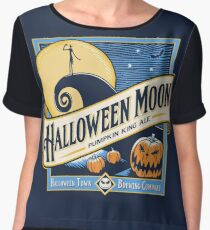 Halloween Moon Chiffon Top