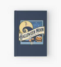 Halloween Moon Hardcover Journal