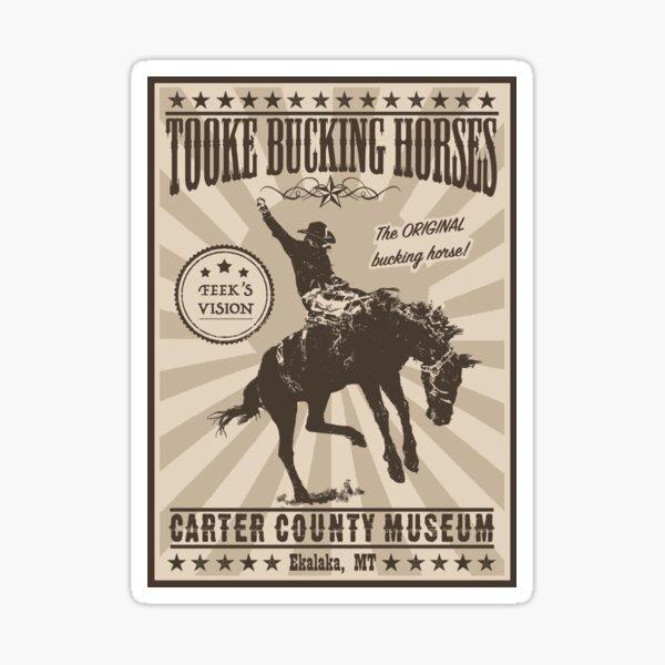 Tooke Bucking Horses Sticker