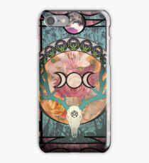 Lunar Deer Skull iPhone Case/Skin