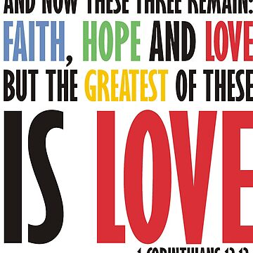 Faith Hope and Love by parable