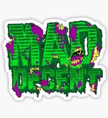 Mad decent logo Zombie Sticker