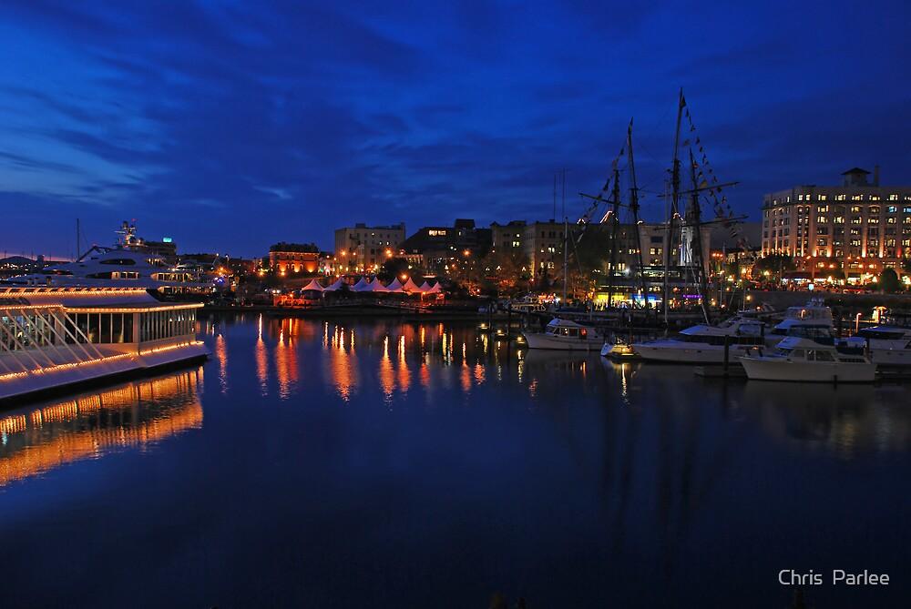 Victoria Harbor by Chris  Parlee