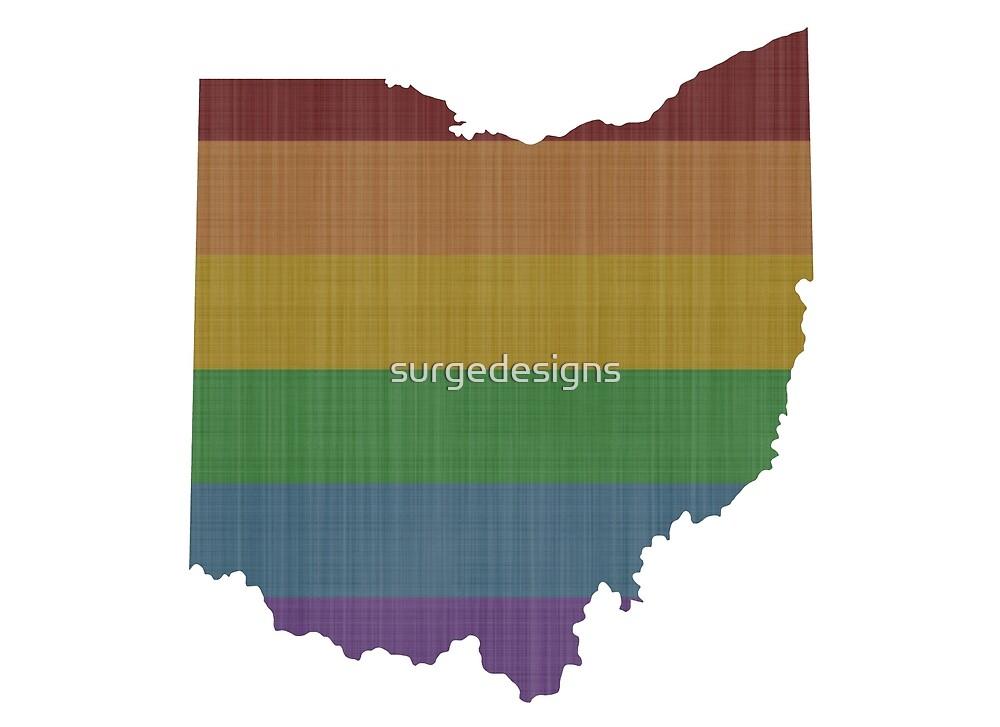 Ohio Rainbow Gay Pride by surgedesigns