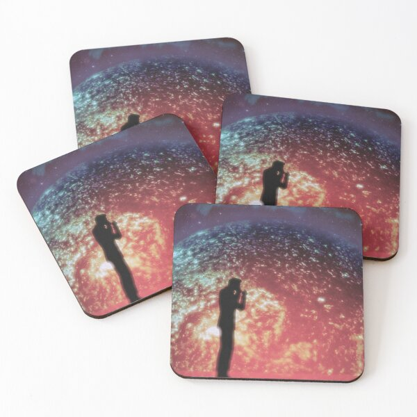 The Illusive Man Coasters (Set of 4)