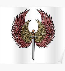 wing sword Poster