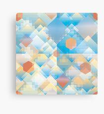 Pixel Rain Canvas Print