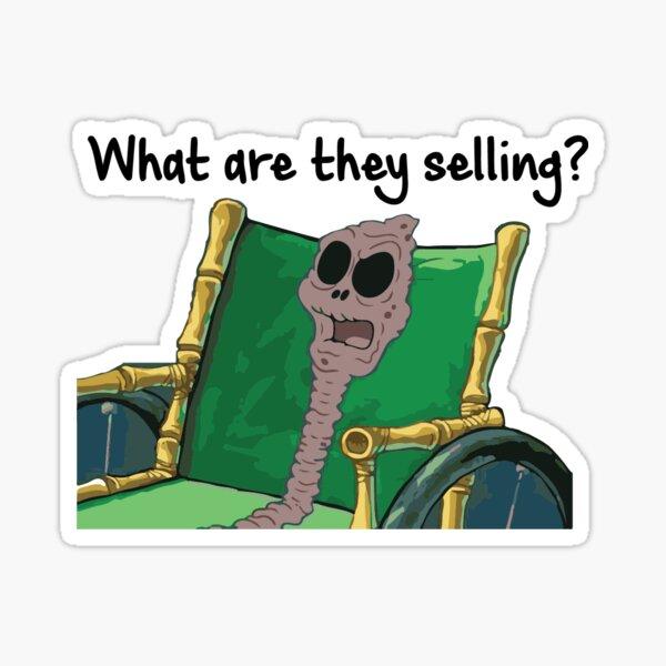 Spongebob Was verkaufen sie? Sticker