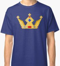 Gold Crown Pixel Art Classic T-Shirt