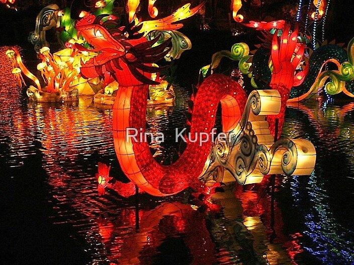 Dragon by Rina  Kupfer