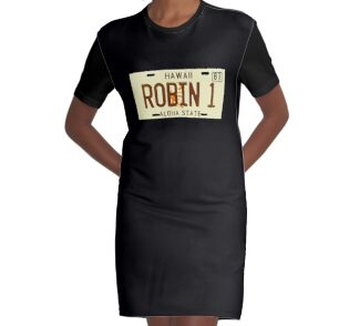 """""""Magnum PI License Plate"""" One Piece - Short Sleeve by ..."""