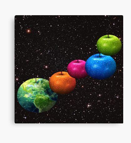 Apple system Canvas Print
