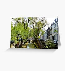 It is spring again at Utrecht Greeting Card