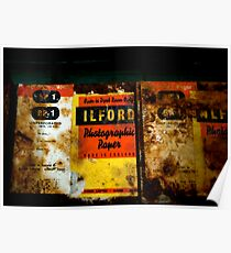 Ilford Even in Antarctica Poster