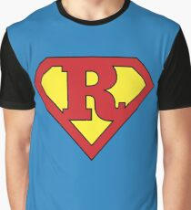 R Programming Superhero - Cool Data Scientist & Programmer Design Graphic T-Shirt