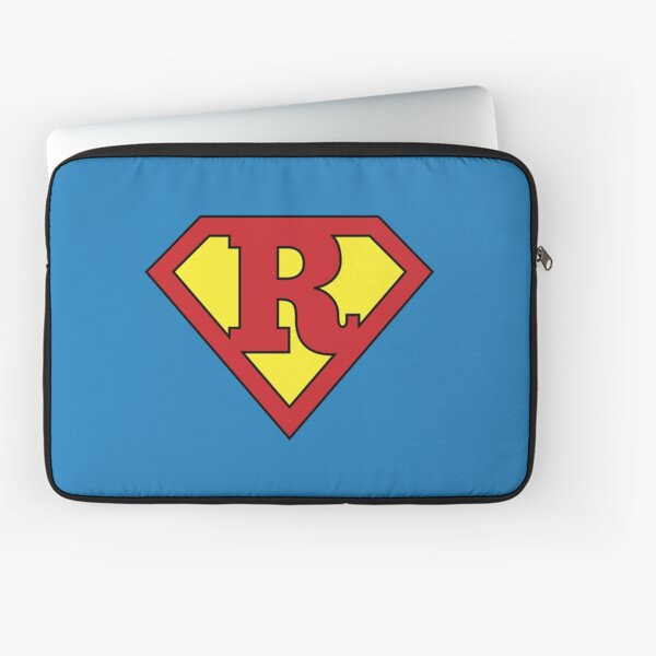 R Programming Superhero Cool Data Scientist/Engineer Design Laptop Sleeve