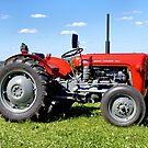 Massey Ferguson 35 Tractor by Andrew Harker