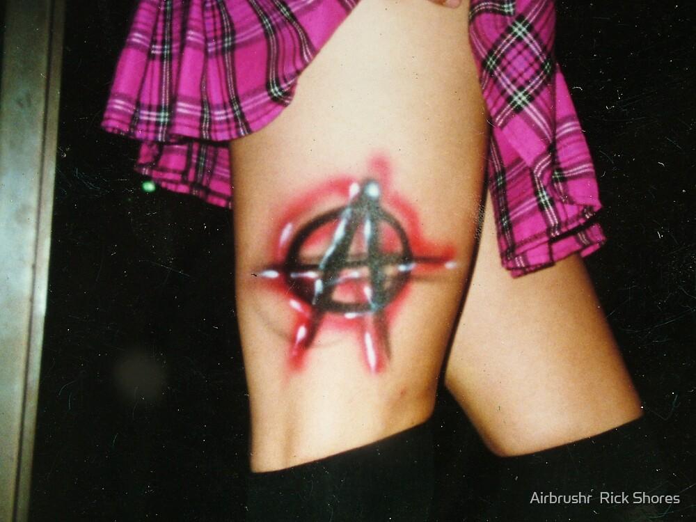 Temp Tattoo by Airbrushr  Rick Shores