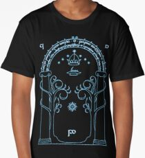Speak Friend and Enter, The gates of moria Long T-Shirt