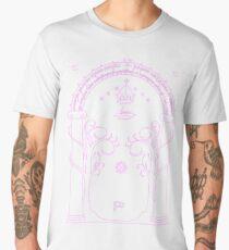 Speak Friend and Enter - Pink Men's Premium T-Shirt