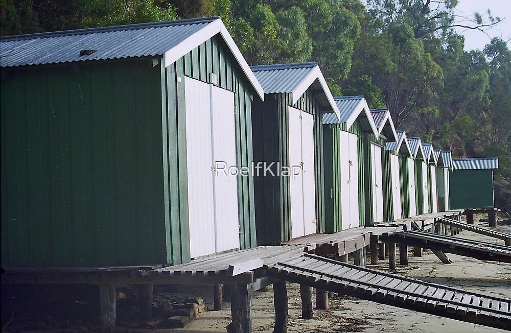Boat sheds by RoelfKlap