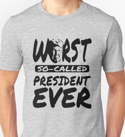 Trump Worst President T-Shirt