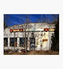 The Garage Photographic Print