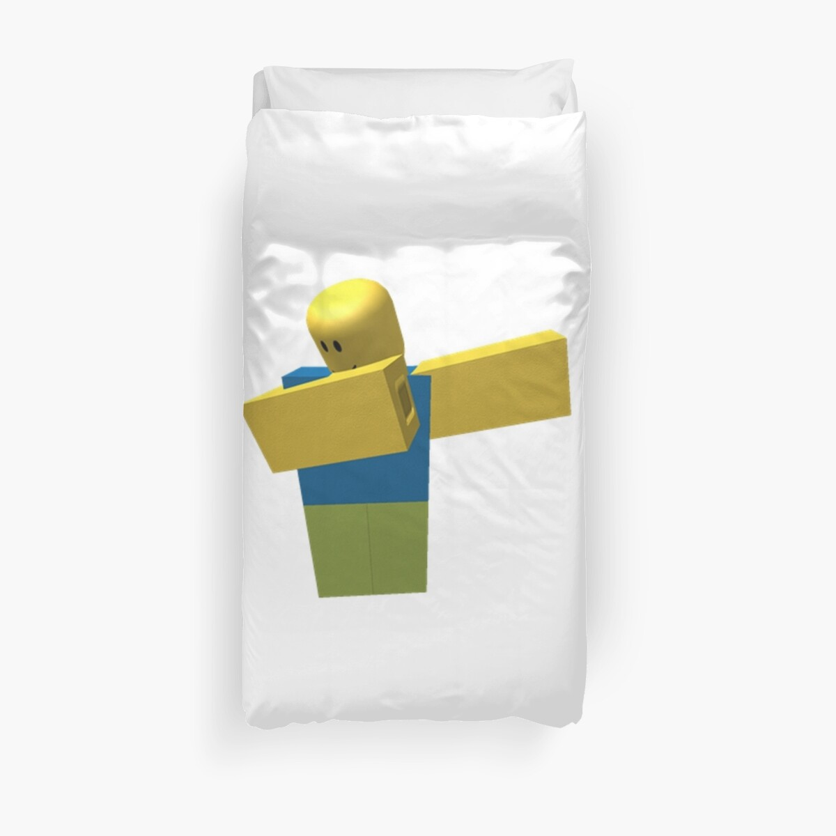 Quot Roblox Dab Quot Duvet Covers By Nutting Redbubble
