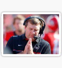 praying by Kirby Sticker