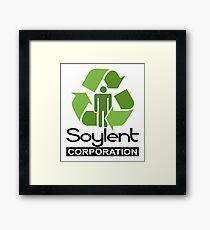Soylent Corporation Framed Print