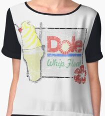 Dole Whip Float (DISTRESSED) Chiffon Top