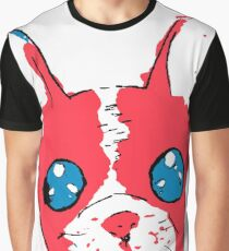 French bulldog anime eyes sketch with marker Graphic T-Shirt