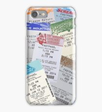 Fastpasses iPhone Case/Skin