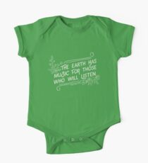 The Earth Has Music For Those Who Will Listen One Piece - Short Sleeve