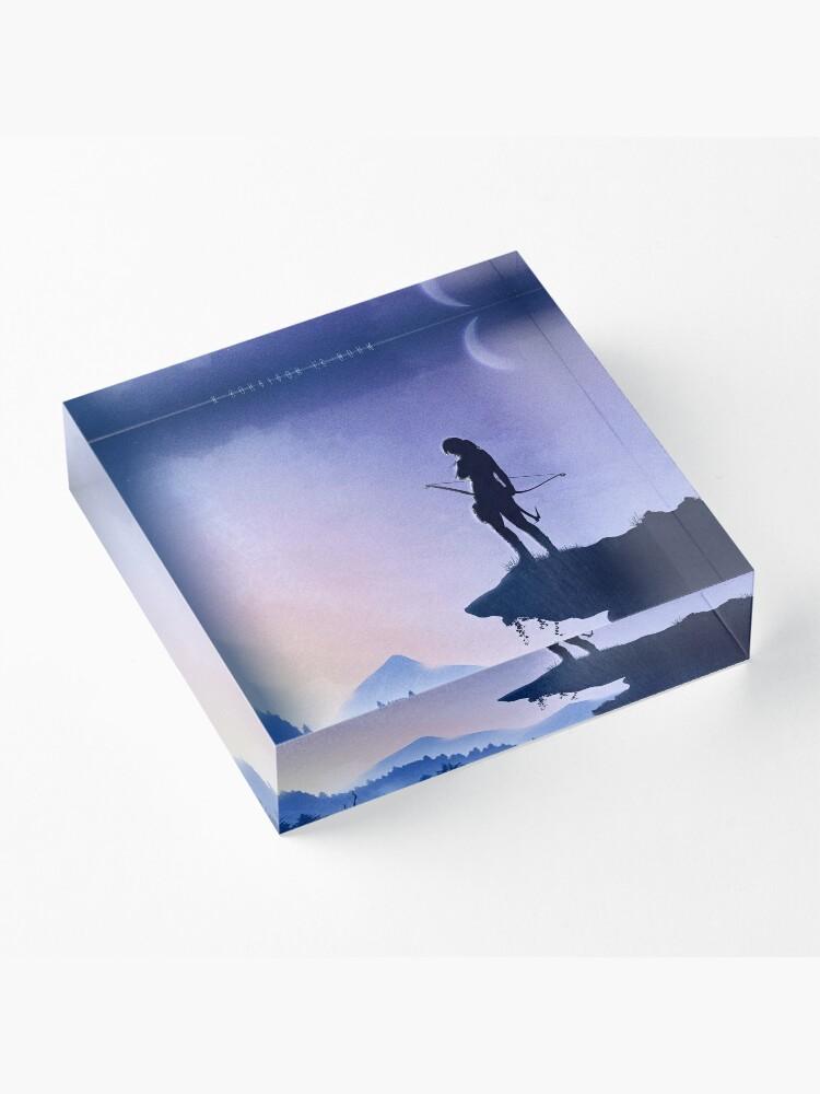 Alternate view of Survivor Acrylic Block