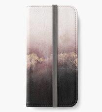 Rosa Himmel iPhone Flip-Case/Hülle/Klebefolie