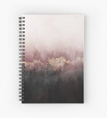 Cuaderno de espiral Cielo rosa