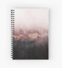 Pink Sky Spiral Notebook