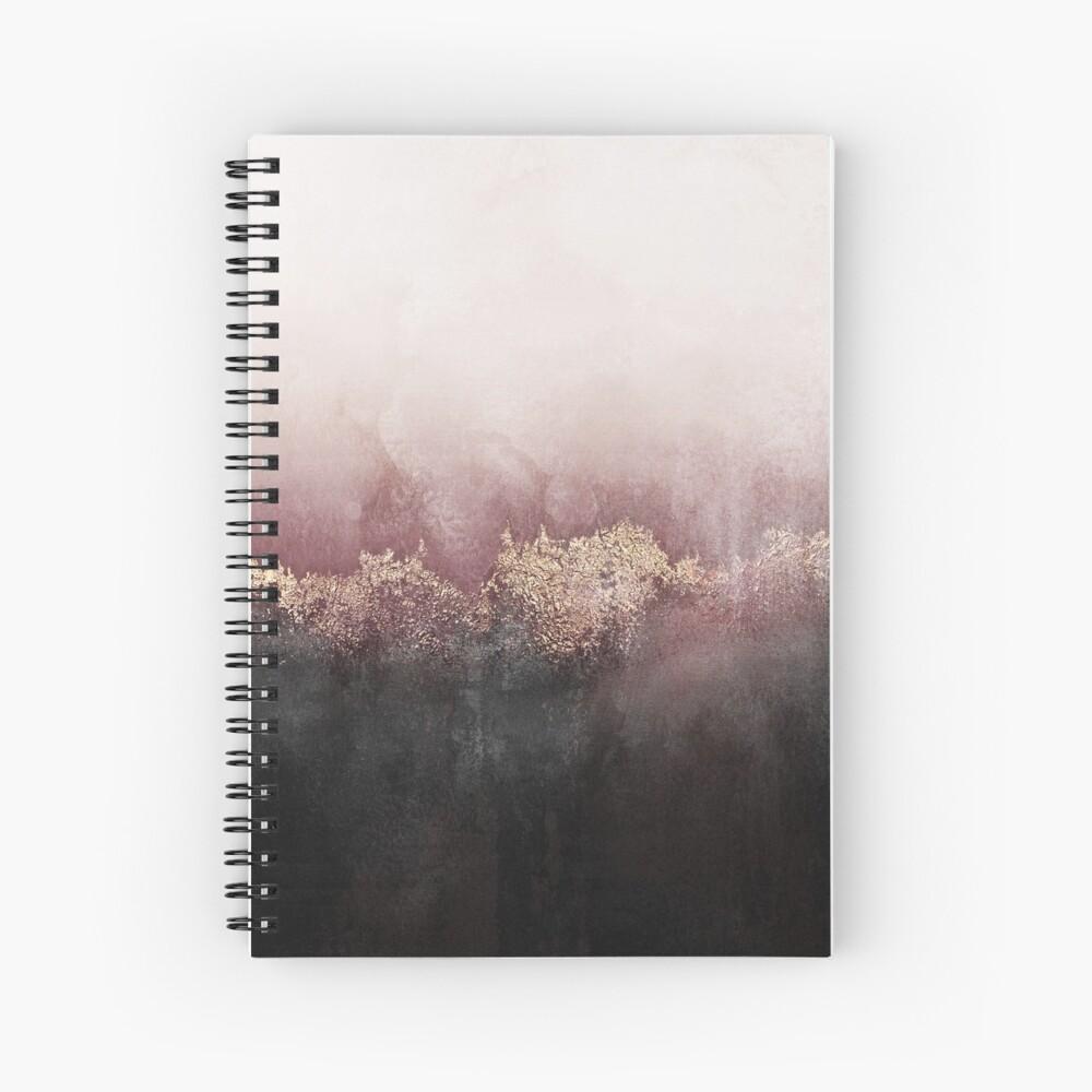 Cielo rosa Cuaderno de espiral