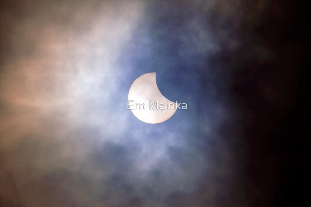 Solar Eclipse by Ern Mainka